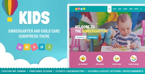 Tema Kids - Template WordPress