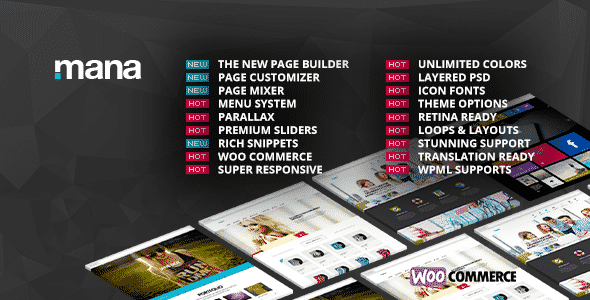 Tema Mana - Template WordPress
