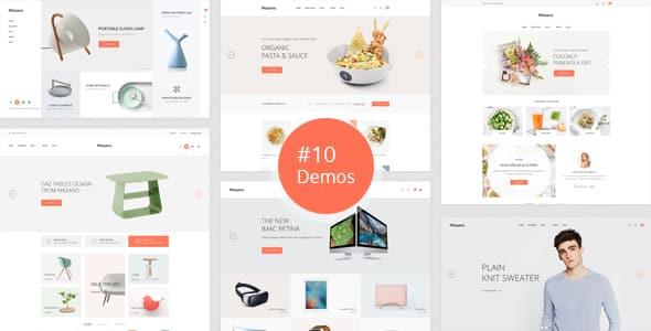 Tema Mazano - Template WordPress