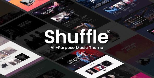 Tema Shuffle - Template WordPress