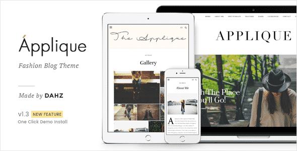 Tema Applique - Template WordPress