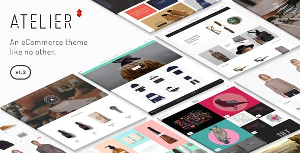 Tema Atelier - Template WordPress