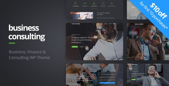 Tema Business Consulting - Template WordPress