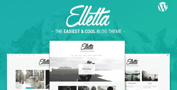 Tema Elletta - Template WordPress