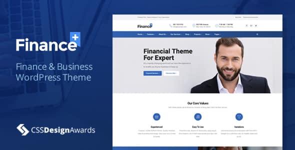 Tema FinancePlus - Template WordPress