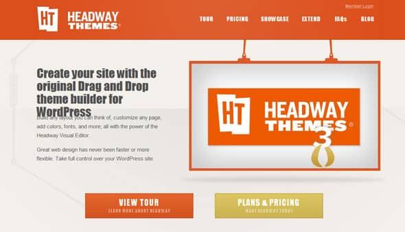 Tema HeadWay - Template WordPress