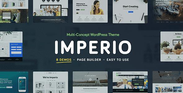 Tema Imperio - Template WordPress