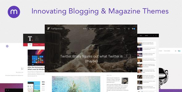 Tema Magazine3 - Template WordPress