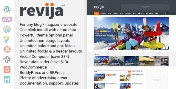 Tema Revija - Template WordPress