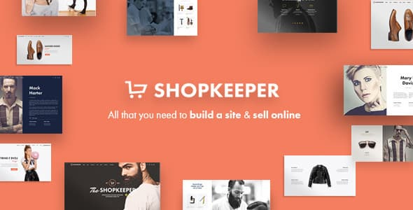 Tema Shopkeeper - Template WordPress
