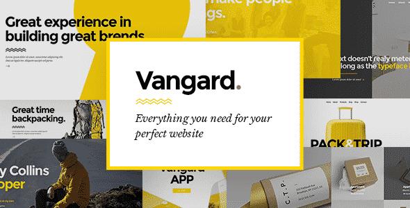 Tema Vangard - Template WordPress