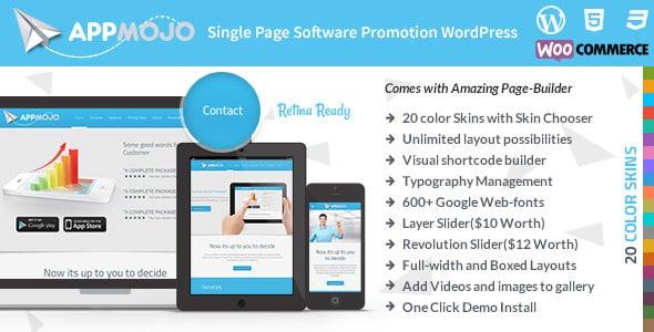 Tema AppMojo - TEmplate WordPress