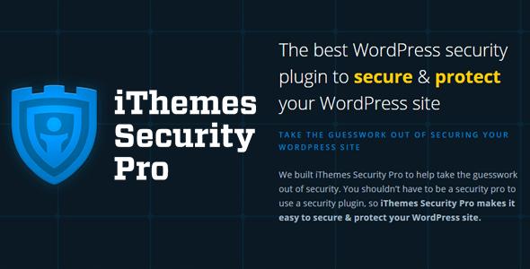 Plugin Security Pro - iThemes WordPress