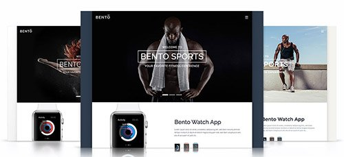 Tema Bento - Template WordPress