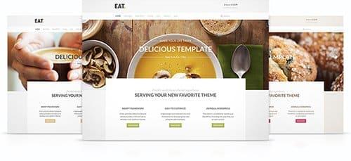 Tema Eat - Template WordPress