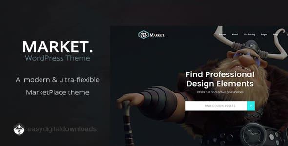 Tema Market - Template WordPress