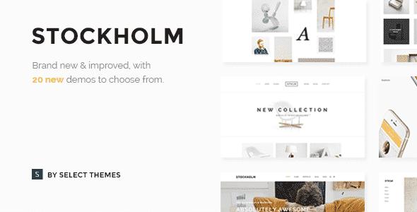 Tema Stockholm - Template WordPress
