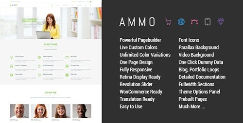 Tema Ammo - Template WordPress