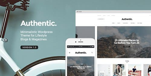 Tema Authentic - Template WordPress