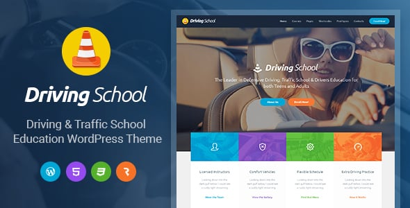 Tema Driving School AIT - Template WordPress