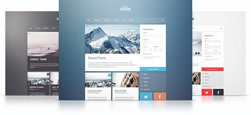 Tema Everest YooTheme - Template WordPress