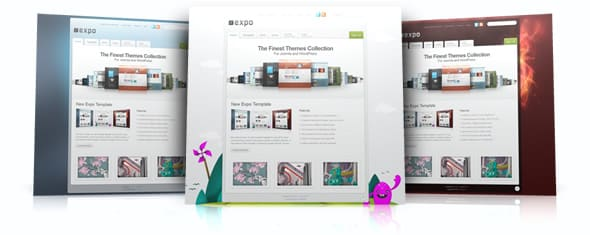 Tema Expo - Template WordPress