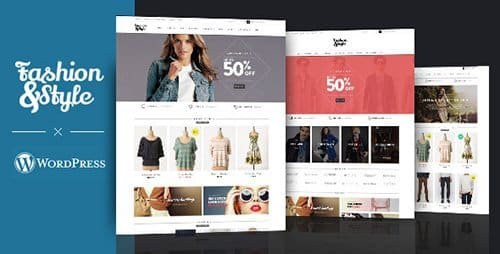 Tema Fashion - Template WordPress