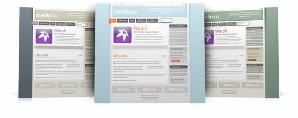 Tema Mellow - Template WordPress