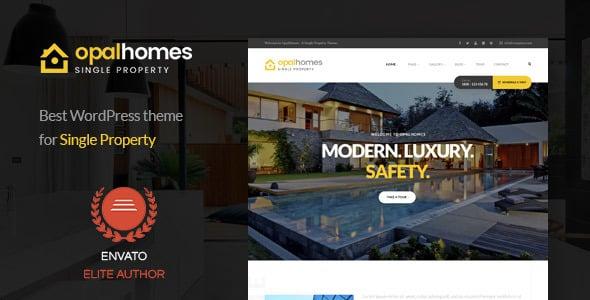 Tema OpalHomes - Template WordPress