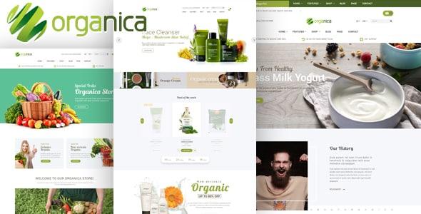 Tema Organica - Template WordPress