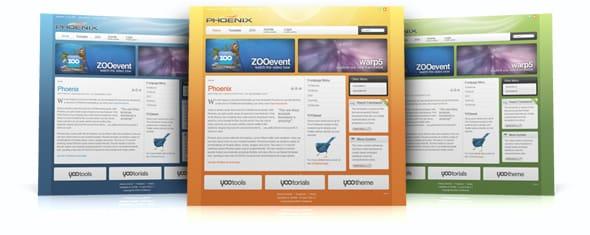 Tema Phoenix YooTheme - Template WordPress