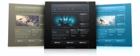 Tema Planet YooTheme - Template WordPress