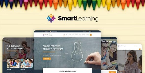 Tema Smart Learning - Template WordPress
