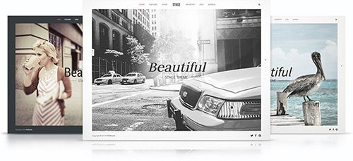 Tema Stage YooTheme - Template WordPress
