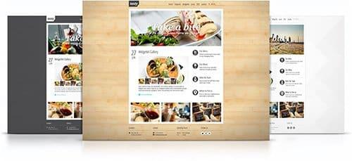 Tema Tasty YooTheme - Template WordPress