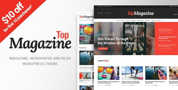 Tema Top Magazine - Template WordPress