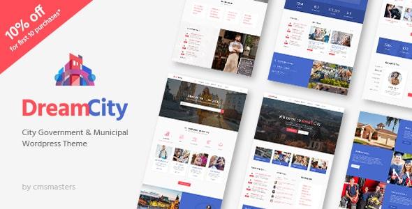 TEma Dream City - Template WordPress