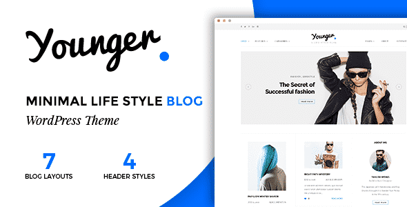 TEma Younger - Template wordPress