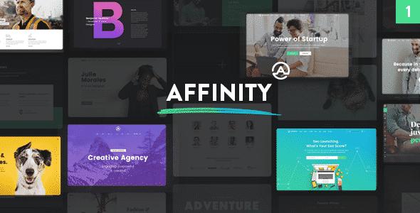 Tema Affinity - Template WordPress