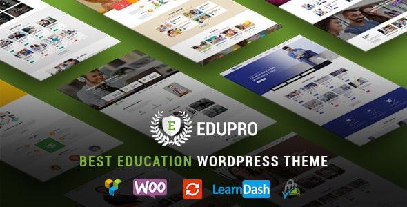 Tema Edu Pro - Template WordPress