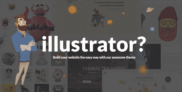 Tema Illustrator - Template WordPress