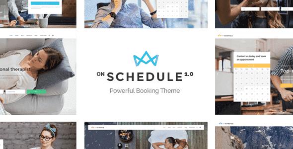 Tema OnSchedule - Template WordPress