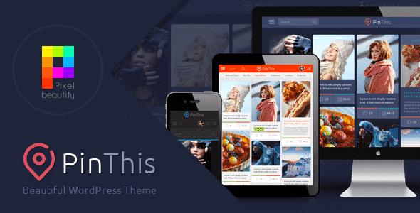 Tema PinThis - Template WordPress