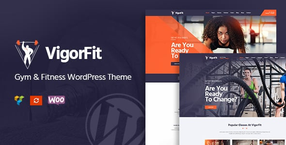 Tema VigorFit - Template WordPress