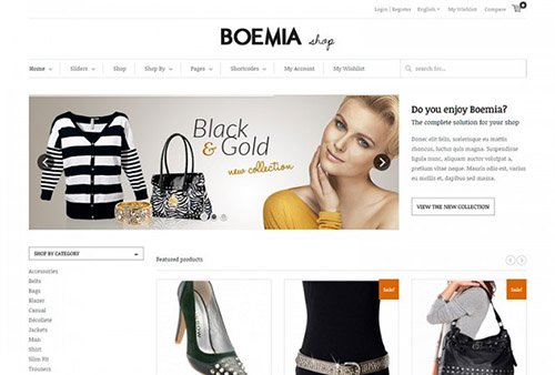 Tema Boemia Yith - Template WordPress