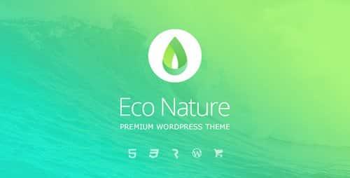 Tema Eco Nature - Template WordPress