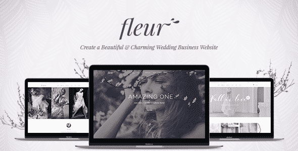 Tema Fleur - Template WordPress