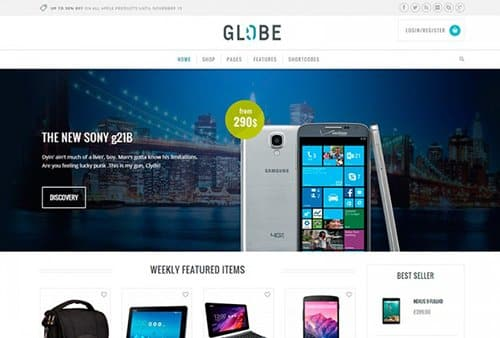 Tema Globe Yith - TEmplate WordPress