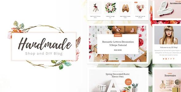 Tema Handmade CMSMasters - Template WordPress