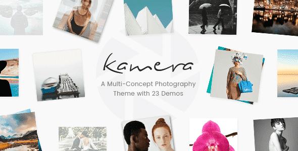 Tema Kamera - Template WordPress